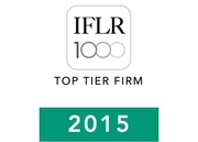 Top Tier Firm - IFLR 1000